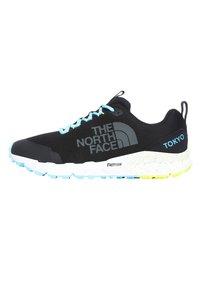 The North Face - M SPREVA TOKYO - Trainers - tnf black/bluefish - 0