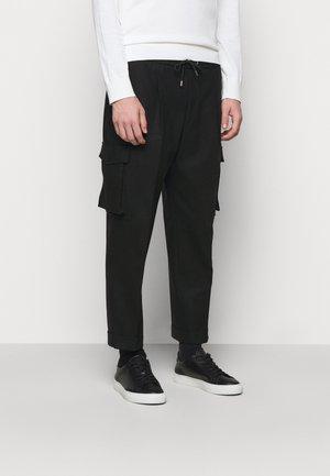 PANTS - Bikses - black