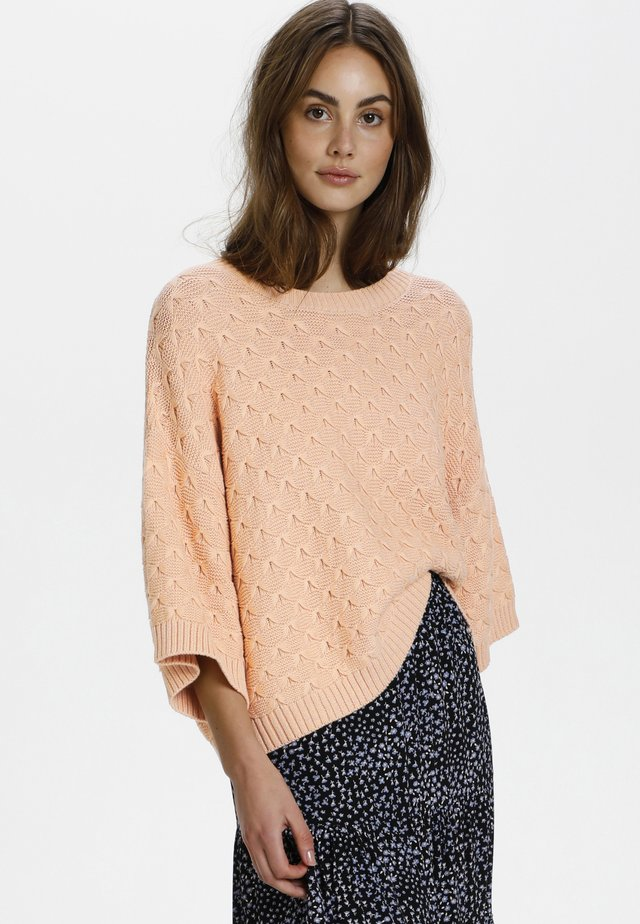 ROSALIE - Jersey de punto - peachy keen