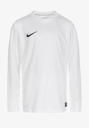 PARK VI - Long sleeved top - white / black