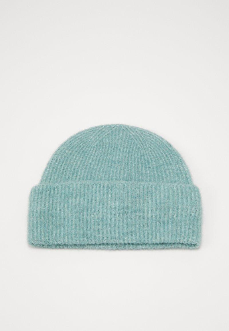 Samsøe Samsøe - NOR HAT  - Czapka - oil blue