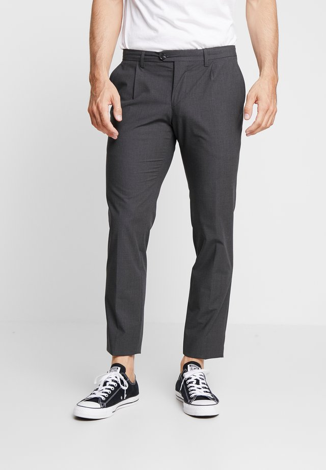 SHACK TROUSER - Pantalones - anthracite