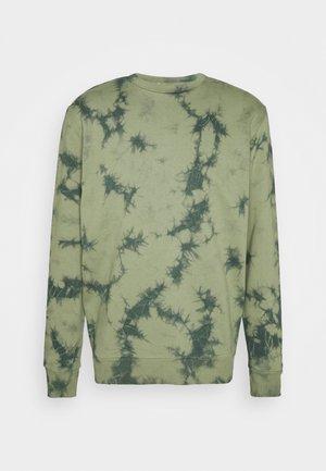 TIE DYE UNISEX - Sweatshirt - khaki