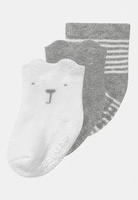 GAP - 3 PACK UNISEX - Socks - light heather grey - 0