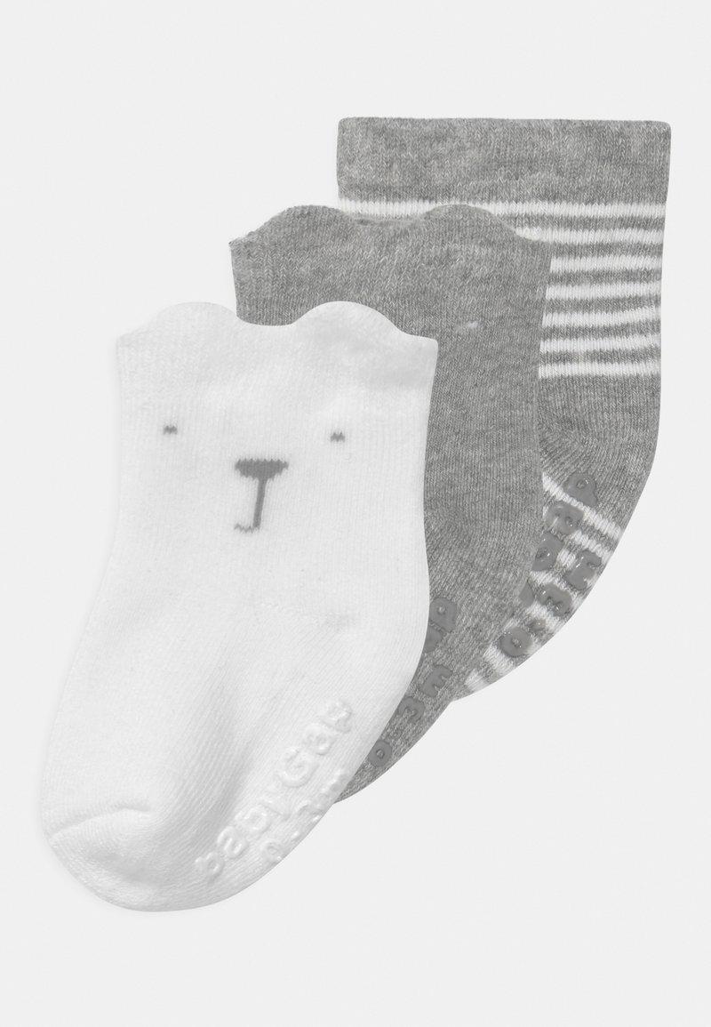 GAP - 3 PACK UNISEX - Socks - light heather grey