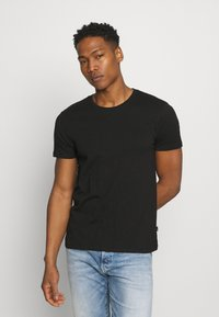 Burton Menswear London - 7 PACK - T-shirt - bas - black - 5