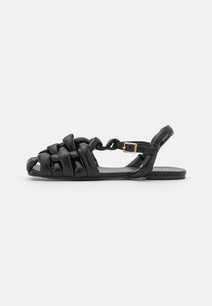ELECTAA - Sandalias - black
