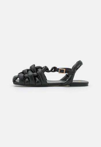 ELECTAA - Sandals - black