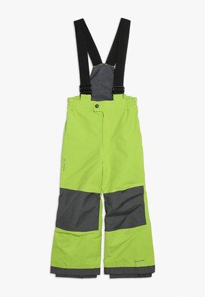 KIDS SNOW CUP PANTS - Spodnie narciarskie - chute green