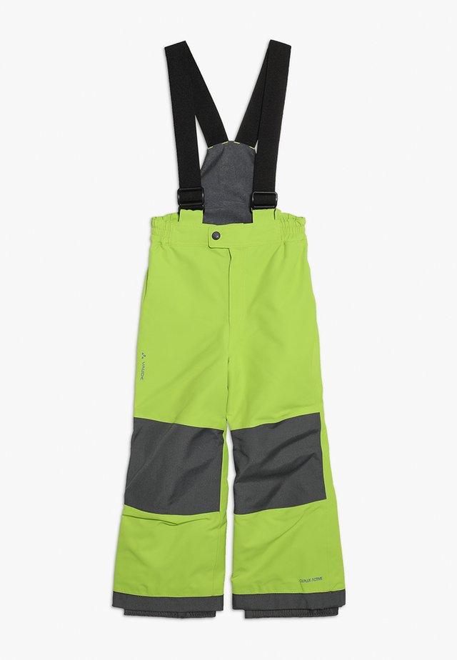 KIDS SNOW CUP PANTS - Pantalon de ski - chute green