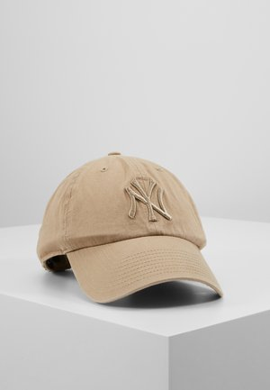 NEW YORK YANKEES CLEAN UP UNISEX - Casquette - khaki
