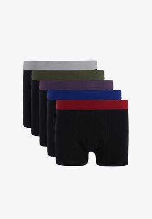 5 PACK - Pants - black