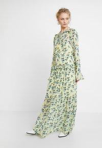 Custommade - VICKEY - Maxi dress - pastel yellow - 2