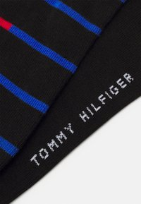 Tommy Hilfiger - MEN SNEAKER BRETON STRIPE 2 PACK - Chaussettes - black - 1