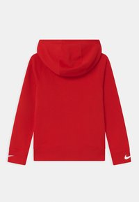 Nike Sportswear - HOODED UNISEX - Hoodie - university red/white - 1
