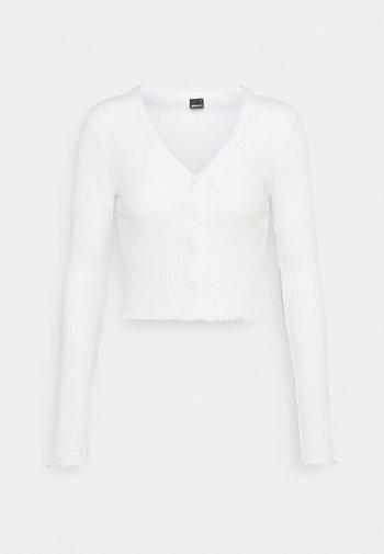 KELLY CARDIGAN - Strickjacke - warm white