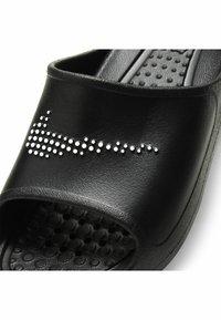 Nike Sportswear - VICTORI SLIDE - Pool slides - black/white-black - 5