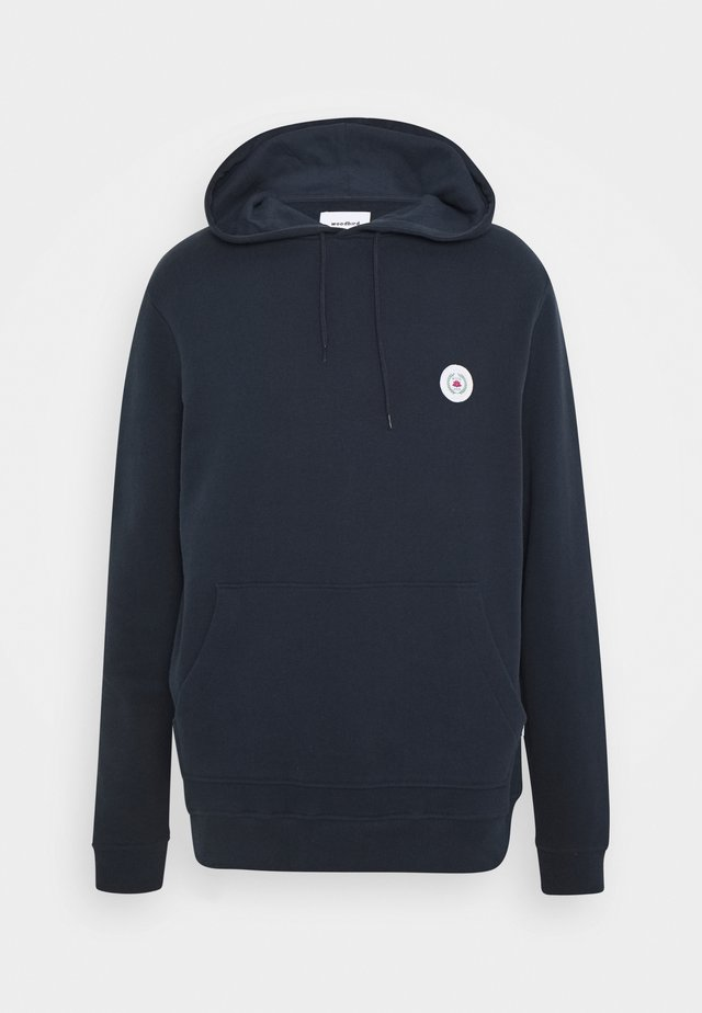 OUR SHAXY PATCH HOOD - Hoodie - navy