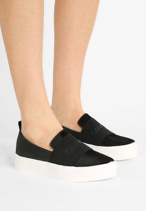 JACINTA - Slip-ons - black