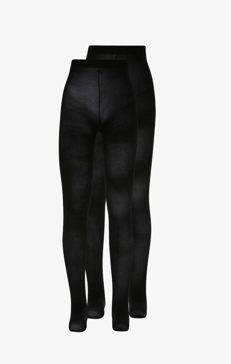 Ewers - KIDS ZBASIC 2 PACK - Panty - schwarz