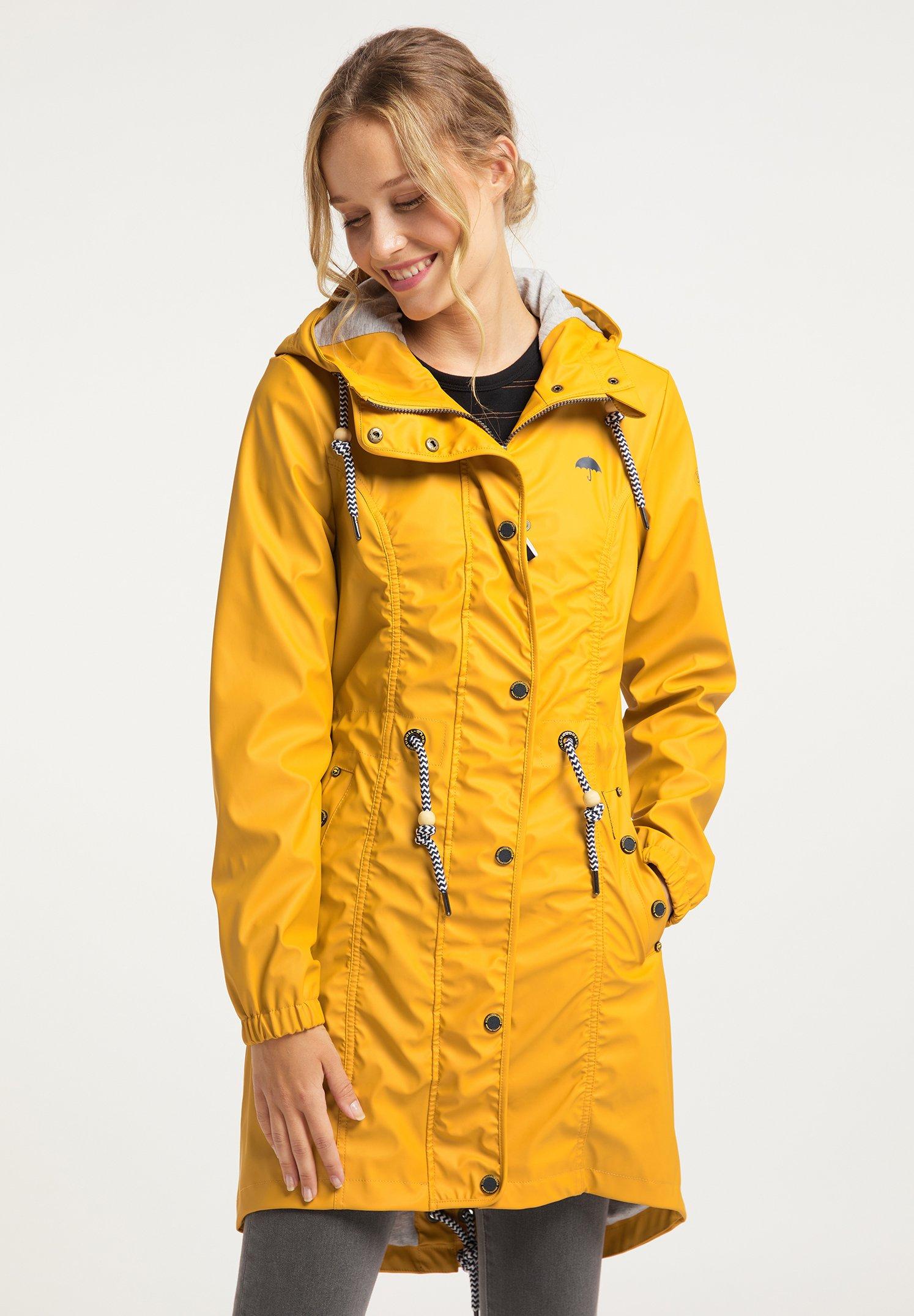 Schmuddelwedda Damen Jacke gelb pink weiß |