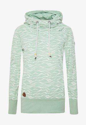 YODA ORGANIC - Bluza z kapturem - dusty green