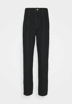 SEAM DETAIL MOM - Jeans a sigaretta - black