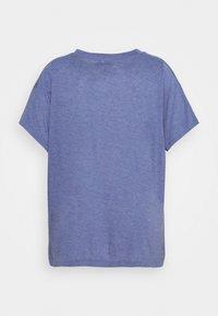 adidas Performance - WIN TEE - T-shirts med print - orbit violet melange - 1