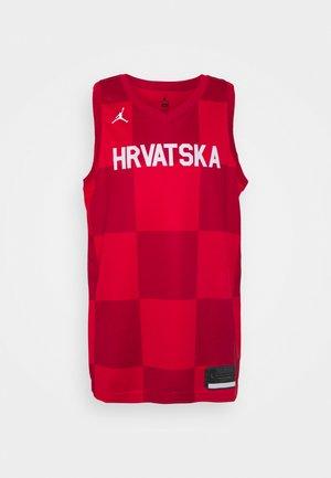 CROATIA TEAM SWINGMAN - Klubbkläder - university red/white