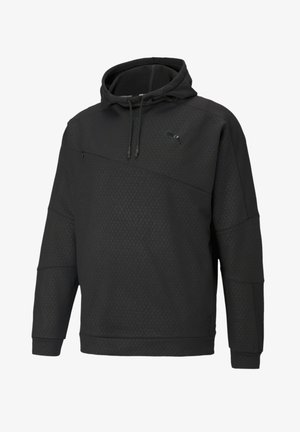 TRAIN ACTIVATE HOODIE - Luvtröja - black