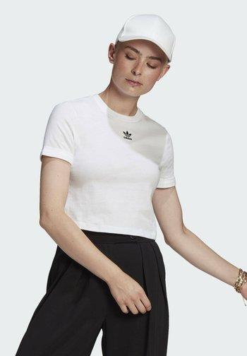 TOP ADICOLOR ORIGINALS REGULAR T-SHIRT - Print T-shirt - white