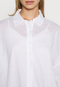Nly by Nelly - SUMMER - Button-down blouse - white - 5