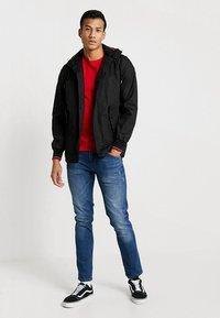 HARRINGTON - MICK HOODED - Summer jacket - black - 1