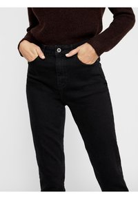Pieces - Jeans slim fit - black denim - 3