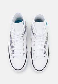 Converse - CHUCK TAYLOR ALL STAR - Baskets montantes - white/black/sail blue - 3