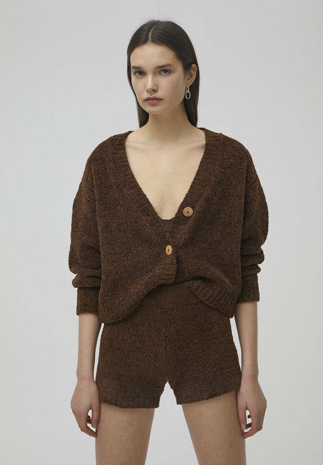 Pyjamashirt - brown