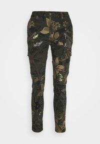 Desigual - PANT CARGO - Pantalon classique - olive - 4