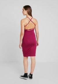 Even&Odd - Denní šaty - beaujolais - 2