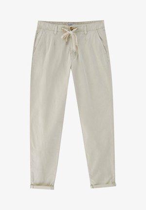 SLIM FIT - Chinot - mottled beige