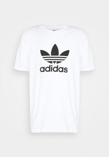 TREFOIL UNISEX - T-shirt print - white/black