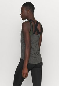 Ellesse - SHARLA - Sports shirt - dark grey marl - 2