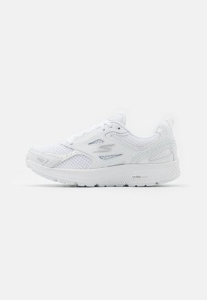 GO RUN CONSISTENT - Neutral running shoes - white/silver