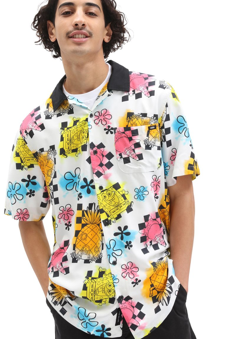 Vans - MN VANS X SPONGEBOB AIRBRUSH WOVEN - Shirt - (spongebob) airbrush