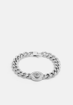 LION COIN CHAIN BRACELET UNISEX - Pulsera - silver-coloured