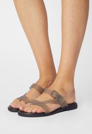 TULUM - Pool shoes - black
