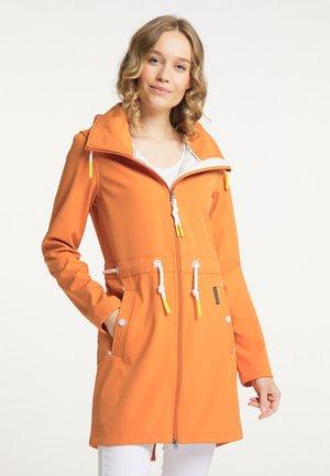 Outdoorová bunda - orange