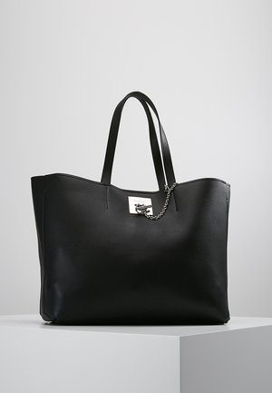 CK LOCK - Tote bag - black