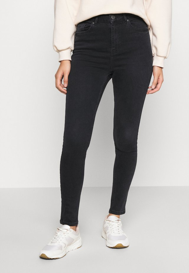 OBJHARPER  - Jeans Skinny Fit - black denim