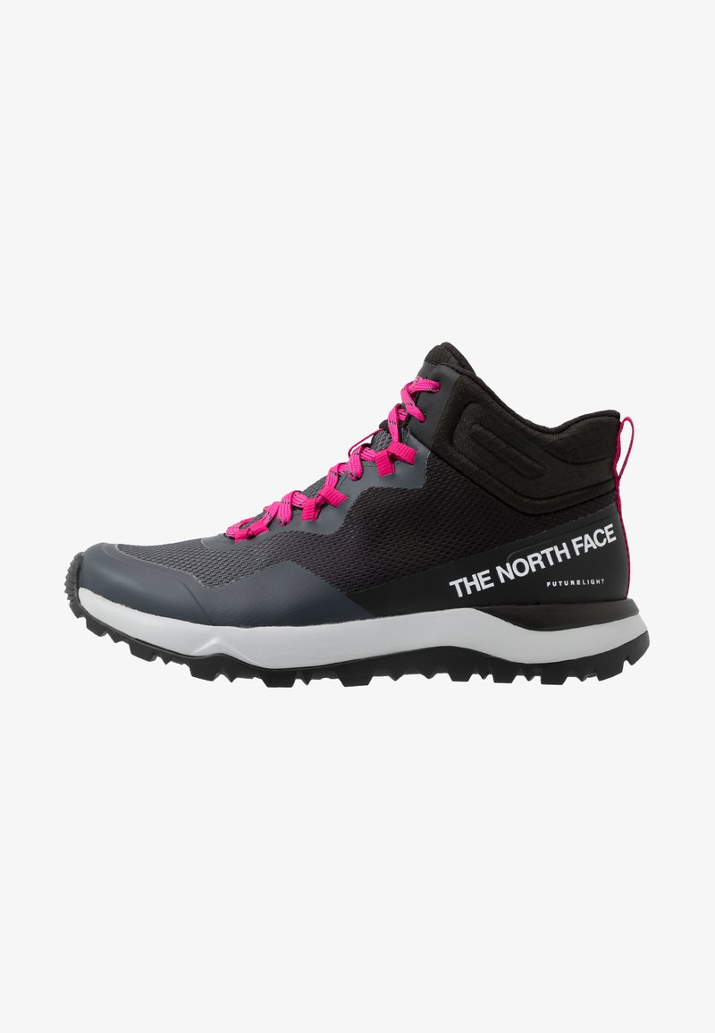 The North Face - W ACTIVIST MID FUTURELIGHT - Outdoorschoenen - zinc grey/black