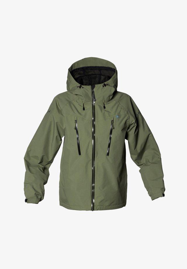 MONSUNE - Hardshell jacket - moss